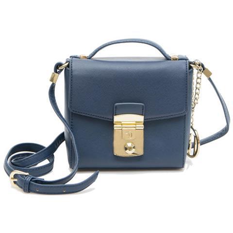 Ecopelle Levanto Donna Borsa Saffiano Blue Trussardi Jeans wXuOTikZP