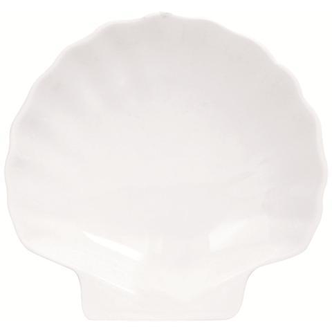 EXCELSA Piatto Conchiglia White Home Bianco 13,0 cm