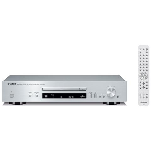 YAMAHA Lettore CD CD-N301 Supporto MP3 / WMA / AAC / FLAC DLNA colore Argento