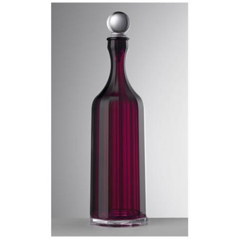 Bottiglia Bona Acrilico Con Tappo H 35,5 Cm Colore Rubino