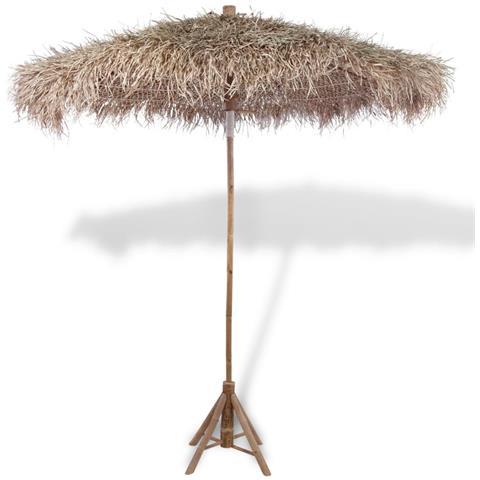 Image of Ombrellone In Legno Di Bamb