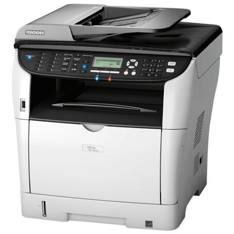 Image of AFICIO SP3500SF Stampante Multifunzione Strampa Copia Scansione Fax B / N A4 Ethernet Usb