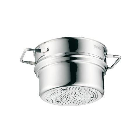 Cestello Cuocipasta per cottura a vapore in acciaio Inox Cromargan 20 cm