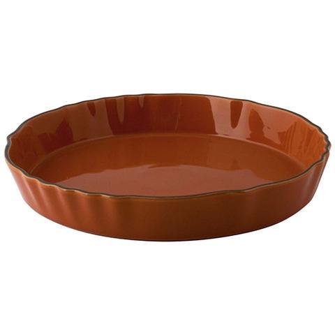 Pirofila Stoneware Tonda Arancio 24 Strumenti Da Cucina