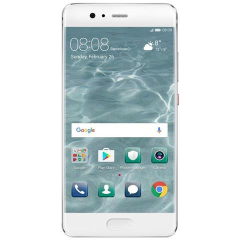 "HUAWEI P10 Argento 64 GB 4G/LTE Display 5.1"" Full HD Slot Micro SD Fotocamera 20 Mpx Android Vodafone Italia"
