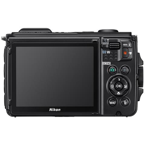 Coolpix W300 Sensore CMOS 16 Mpx Zoom Ottico 5x Video 4K Wi-Fi Bluetooth - Nero