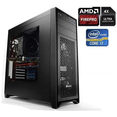 Image of Pc Cad Station Intel Core I7-7700 (4core) +16gb+ (3.25tb) m. 2 250ssd / evo850+3.0tb+radeon Firepro W4300 4gb+mast. dvd