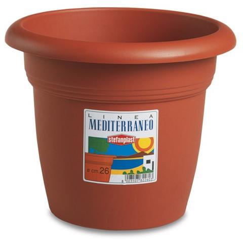 Vaso in Polipropilene - Modello Mediterraneo 24 cm
