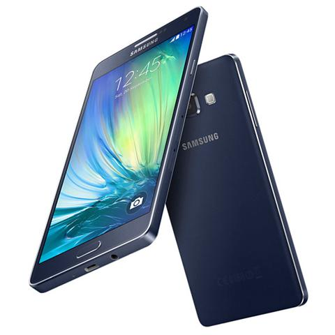 Galaxy A7 Black Display 5.5'' Full HD Octa Core Ram 2GB Storage 16GB +slot MicroSD Bt WiFi 4G / LTE Fotocamera 13Mpx / 5Mpx Android 4.4 - Italia