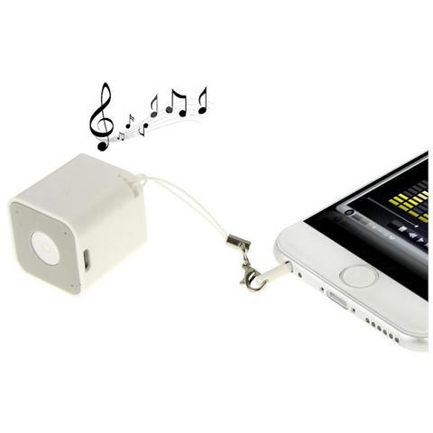 DIGITAL BAY Speaker altoparlante bluetooth WB-26 bianco per smartphone