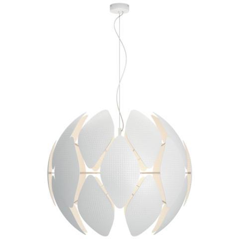 Image of Pendant Smart Volume White - Chiffon 80 Cm
