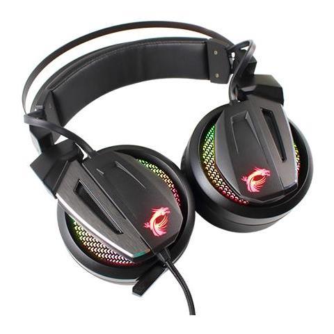 MSI - Cuffia Gaming Immerse GH70 con Microfono Cablato Colore Nero f6ba937c0ff5