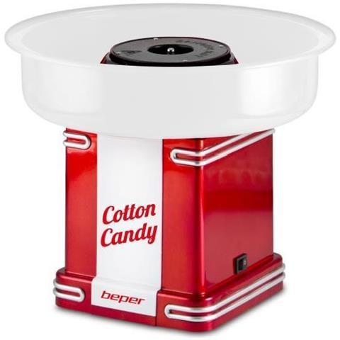 Macchina Per Lo Zucchero Filato 30cm 500w Cotton Candy Design Retro' Anni 50