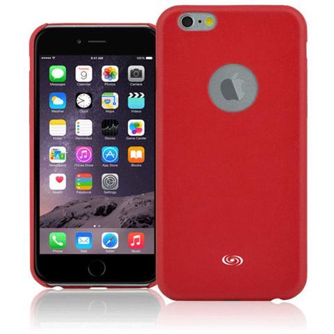 FONEX Executive Cover in Ecopelle per iPhone 6/6S Colore Rosso