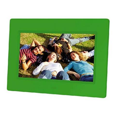 Cornice Digitale 21223 Display 7'' Formato 4:3 Lettore MMC / SD / SDHC Colore Verde