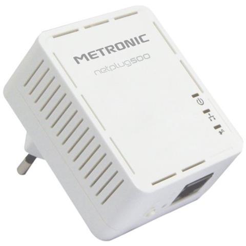 METRONIC Adattatori Cpl 500 Piu Pack 2 Prese