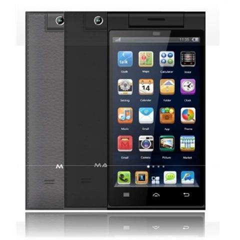 "MASTER 470S Nero 8 GB Dual Sim Display 4.7"" Slot Micro SD Fotocamera 8 Mpx Android Italia"