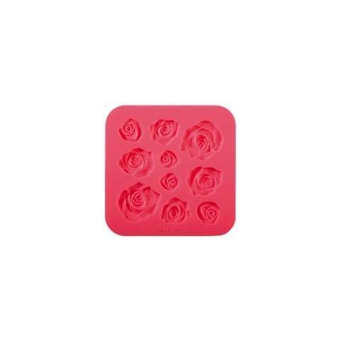 Tescoma Stampo in silicone x pasta di zucchero roselline delicia deco