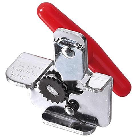 Apriscatole Rigamonti in acciaio cromato e movimenti in acciaio temperato