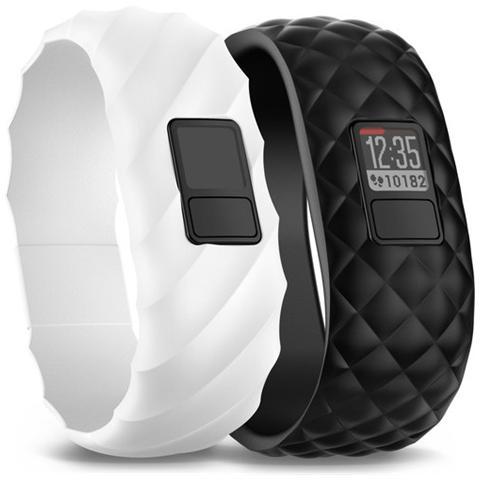 GARMIN VivoFit 3 Style Bundle Fitness band Contapassi e Calorie Bruciate colore Nero