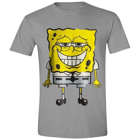 TimeCity Spongebob Squarepants - Smile (T-Shirt Unisex Tg. S)