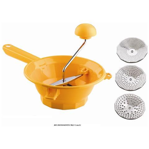 Passatutto In Plastica Din. 24 Con Particolari In Acciaio Inox (3 Dischi) Mod. Tilly 3
