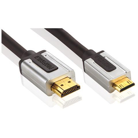 Profigold 2m High Speed HDMI, 2m, HDMI, Mini-HDMI