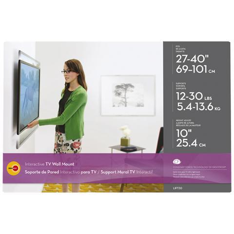 """OMNIMOUNT OMN-LIFT30, 68,58 cm (27"""") , 101,6 cm (40"""") , 7 cm, Acciaio"""