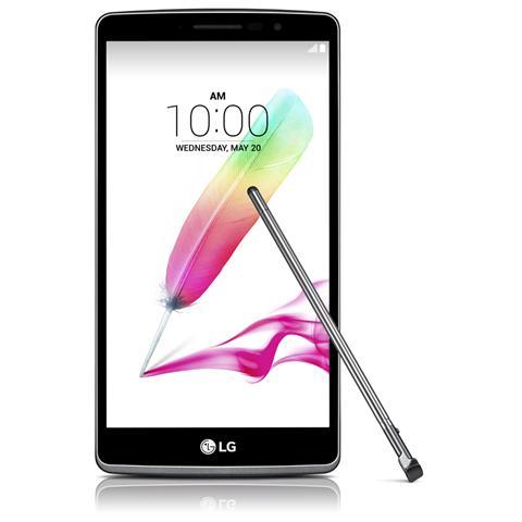 "LG G4 Stylus Titanio 8 GB 4G / LTE Display 5.7"" Quad HD Slot Micro SD Fotocamera 8 Mpx Android Italia"