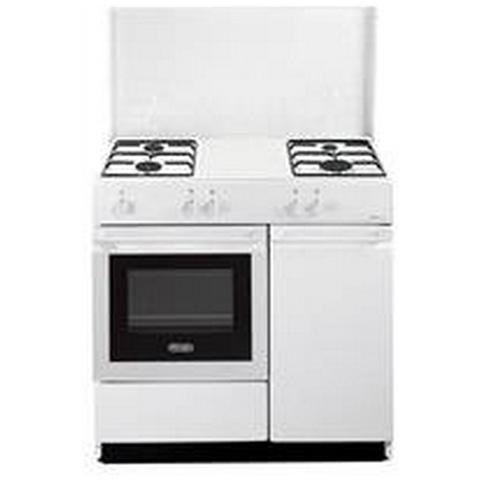 Cucina SGW-854N a Gas 4 Fuochi e Forno a Gas Colore Bianco