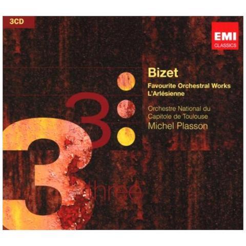WARNER BROS Orchestre Du Capitole / plasson - Bizet / orchestral Works