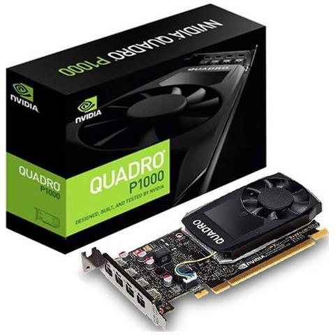 Quadro P1000 4 GB GDDR5 Pci-E 4 x Mini DisplayPort