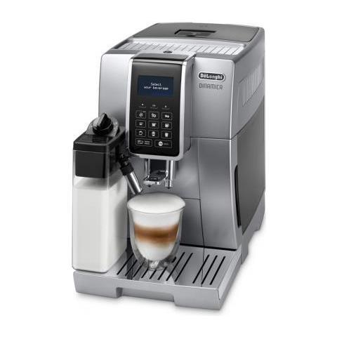 Delonghi Dinamica Ecam 350.75. sb Libera Installazione Macchina Per Espresso Nero, Argento Automatica