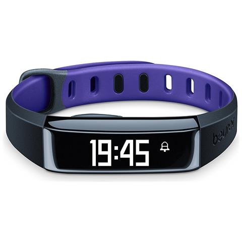 BEURER Activity Tracker AS 80 C Bluetooth per Fitness Colore Viola - Europa