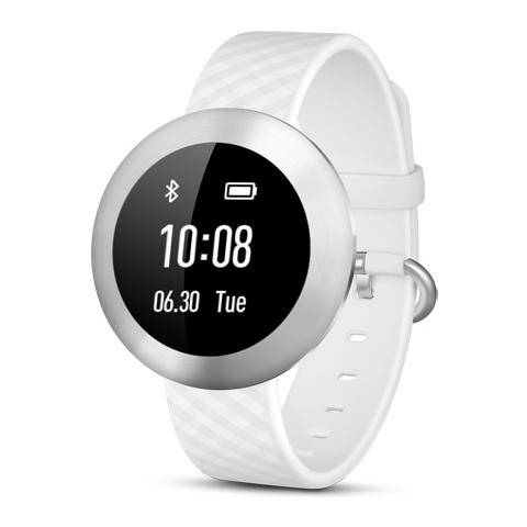 HUAWEI Band Impermeabile Waterproof con Display touchscreen OLED Wireless Bluetooth per Android 4.4+, iOS 7.0+ Bianco - Italia
