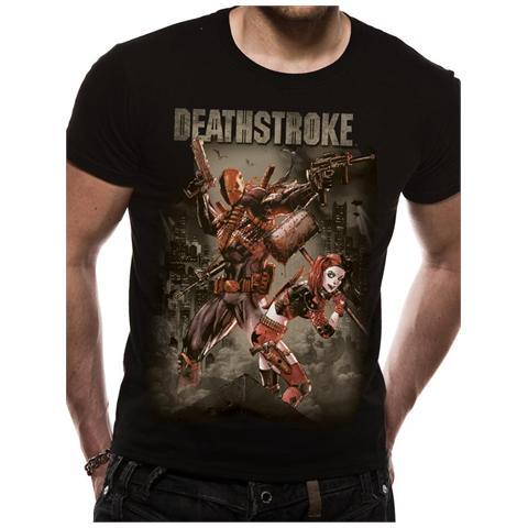 CID Justice League - Deathstroke (T-Shirt Unisex Tg. S)