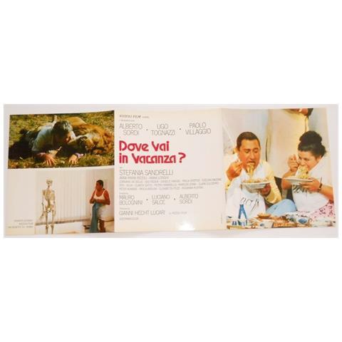 Vendilosubito Brochure Originale Del Film Dove Vai In Vacanza 1978