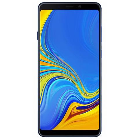 Image of Galaxy A9 (2018) Lemonade Blu Dual Sim Display 6.3'' Full HD+ Octa Core Ram 6GB Storage 128 GB + Slot MicroSD Wi-Fi +4G Lte Fotocamera 24Mp Android -Europa