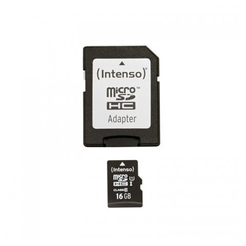 INTENSO Scheda Micro SDXC 64GB Classe 10 + Adattatore SD