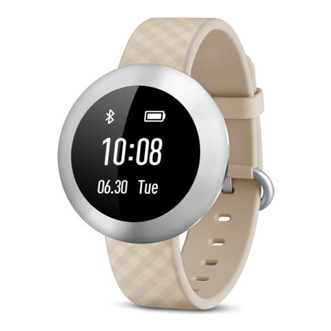 HUAWEI Band Impermeabile Waterproof con Display touchscreen OLED Wireless Bluetooth per Android 4.4+, iOS 7.0+ Crema - Italia