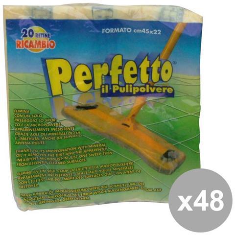 Perfetto Set 48 20 Panni Pulipolvere Art. 0260c Attrezzi Pulizie