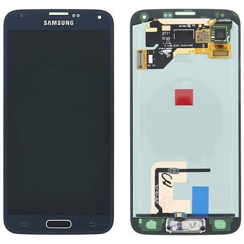 Image of Lcd Touch Display Schermo Screen Originale Per Samsung Galaxy S5 Sm-g900f Nero