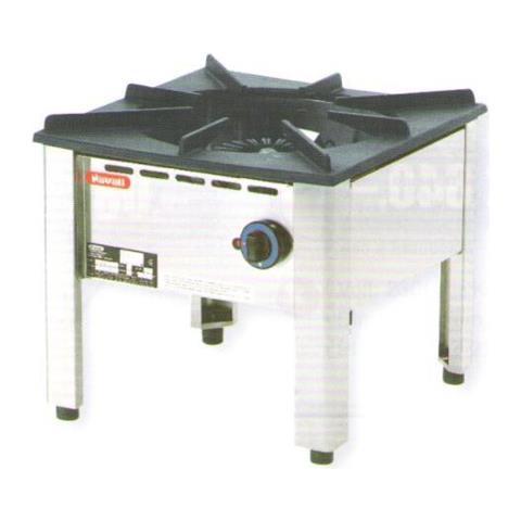 Fornellone A Gas Professionale 1 Fuoco Cm 50x50x45 Rs3379