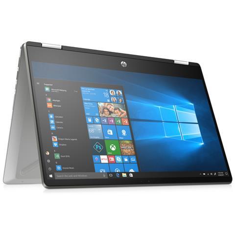 "HP Notebook 2 in 1 Pavilion x360 14-dh0041nl Monitor 14"" Full HD Touch Screen Intel Core i3-8145U Ram 8GB SSD 256GB 3xUSB 3.0 Windows 10 Home"