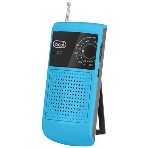 TREVI Radio Portatile Am / fm Trevi Ra 713 B Azzurro