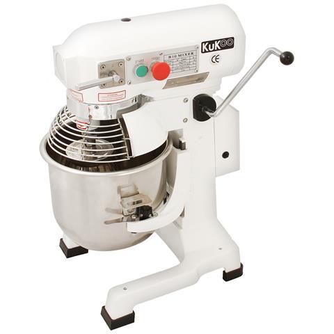 Robot da Cucina Multifunzione 10 Litri con Uncino a Spirale per Impasto, Frusta e Sbattitore