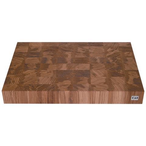 Tagliere Kai In Legno Di Quercia 39x26,2x5,3cm