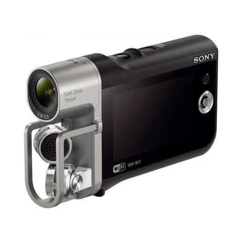 SONY HDR-MV1 Nero Sensore CMOS Exmor R Full HD Display LCD da 2.7'' Wi-Fi NFC