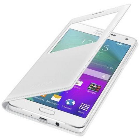 SAMSUNG Flip Cover Custodia per Galaxy A7 - Bianco