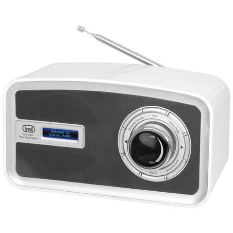 TREVI Radio Dab Portatile Dab 792 R Bianco